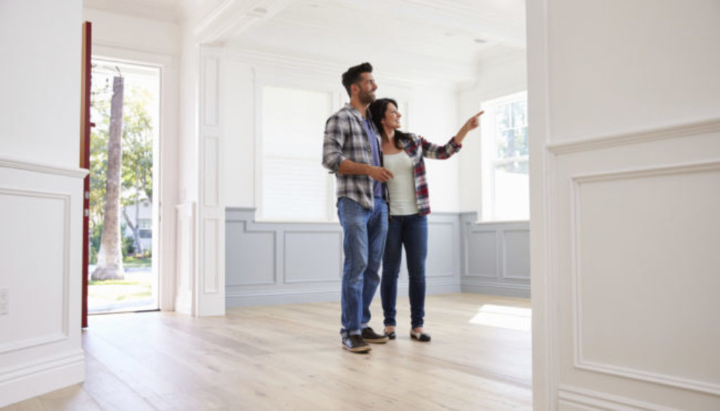 Viewing Potential New Home